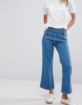 MiH Jeans Arrow Denim Culottes