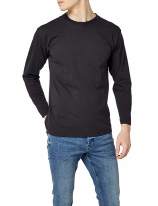 Fruit of the Loom Men's Super Premium Long Sleeve T-Shirt