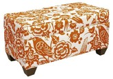 Skyline Furniture Custom Upholstered Box Seam Bench