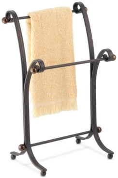 InterDesign York Split Bronze Fingertip Towel Stand Bedding