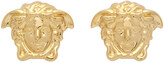 Thumbnail for your product : Versace Gold Medusa Earrings