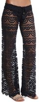 Pilyq Malibu Embroidered-Lace Coverup Pants