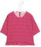 Babe And Tess - checked T-shirt - kids - Cotton - 6 yrs