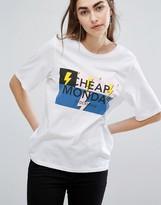 Cheap Monday Bolt Logo T-shirt