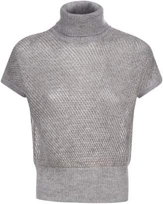 Brunello Cucinelli Rolled-Neck T-Shirt