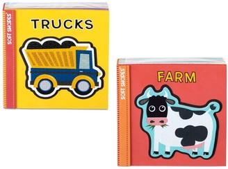 Melissa & Doug Children's Books 2-Pack - Soft Shapes: Trucks; Farm