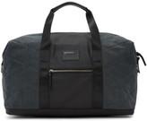 Diesel Black and Indigo D-v-denim Duffle Bag