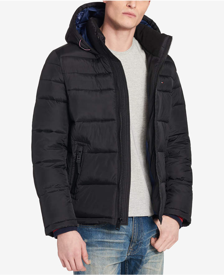 b60473c03 Men Big & Tall Quilted Hooded Puffer Jacket