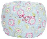 Pottery Barn Kids Samantha Floral Butterfly Anywhere Beanbag