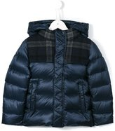 Herno Kids - puffer jacket - kids - Feather Down/Polyamide/Wool - 4 yrs