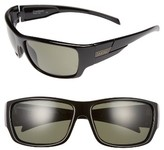 Smith Optics Men's Frontman 61Mm Polarized Sunglasses - Black/ Grey Green Lens