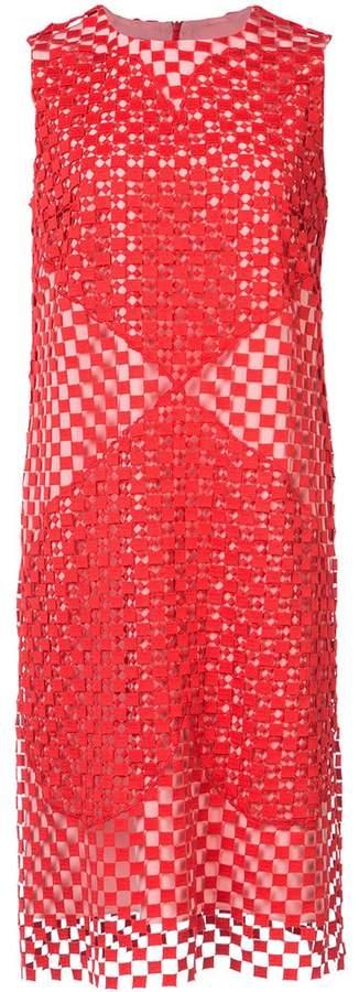 Akris perforated dress