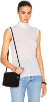 Enza Costa Sleeveless Turtleneck Tee
