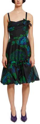 Anna Sui Printed Organza Dress