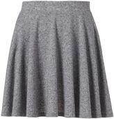 Juniors' SO® Textured Skater Skirt