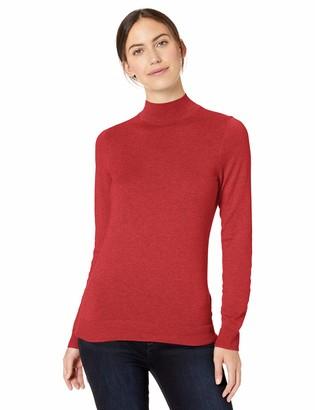 Amazon Essentials Women's Standard Lightweight Mockneck Sweater