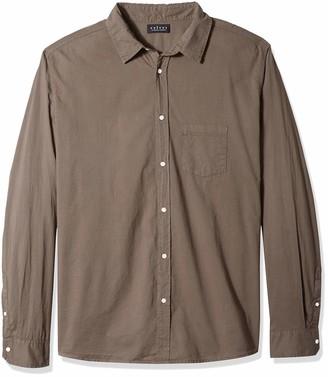 Velvet by Graham & Spencer Men's Milton Classic Button Down Shirt in Soft Cotton