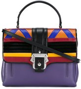 Paula Cademartori geometric motif satchel - women - Leather - One Size