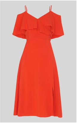 Whistles Frill Detail Dress