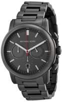 Michael Kors MK8371 Pennat Gunmetal Dial Gunmetal IP Chronograph Men