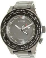 Nixon Men's Passport A379131 Grey Stainless-Steel Swiss Quartz Dress Watch