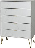 Marbella Swift Ready Assembled 5 Drawer Chest