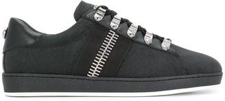 Balmain Large Zip Detail Sneakers