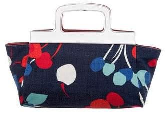 Miu Miu Graphic Print Reversible Handle Bag
