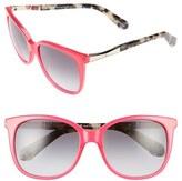 Kate Spade Women's Julieanna 54Mm Sunglasses - Black/ Gold