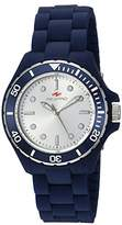 Seapro Women's 'Spring' Quartz Stainless Steel and Silicone Casual Watch, Color:Blue (Model: SP3212)
