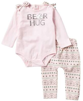 Koala Baby Bear Hug Top & Pants Set (Baby Girls)