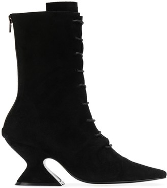 Dorateymur Sculpted Heel Ankle Boots
