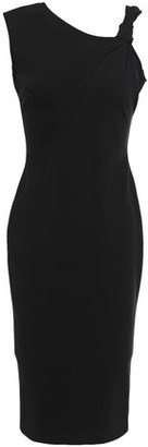 Victoria Beckham Knotted Ponte Dress