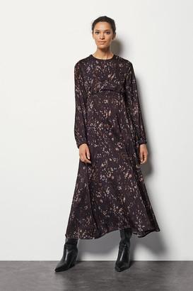 Karen Millen Camo Print Maxi Dress