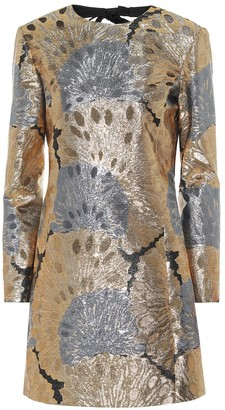 Saint Laurent Brocade minidress