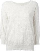 Bellerose round neck top - women - Cotton/Cashmere - I