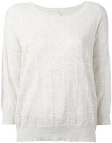 Bellerose round neck top - women - Cotton/Cashmere - II
