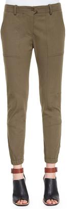 Veronica Beard Field Cargo Ankle Pants