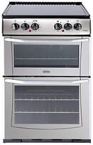 Belling E552 Freestanding Electric Cooker, Silver