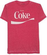 JEM Men's Coca-Cola Enjoy Coke Graphic-Print T-Shirt