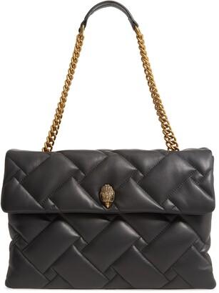 Kurt Geiger XXL Kensington Soft Quilted Leather Shoulder Bag