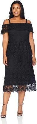City Chic Women's Apparel Women's Plus Size Dress Spring Day