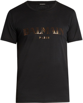 Balmain Logo-print cotton T-shirt