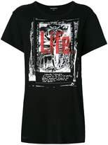 Ann Demeulemeester Re-editions Tarocco print T-shirt