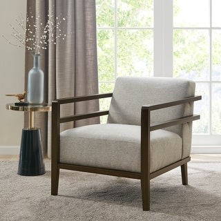 Madison Home USA Theodora Taupe Accent Chair