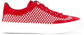 Jimmy Choo Ace sneakers - men - Leather/Suede/rubber - 43
