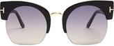 Tom Ford Savannah cat-eye sunglasses