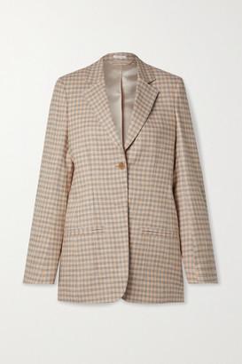 Acne Studios - Checked Cotton-blend Tweed Blazer - Beige