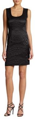 Cynthia Rowley Silk Quilted-Detail Dress