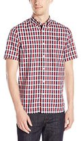 Fred Perry Men's Herringbone Gingham Shirt